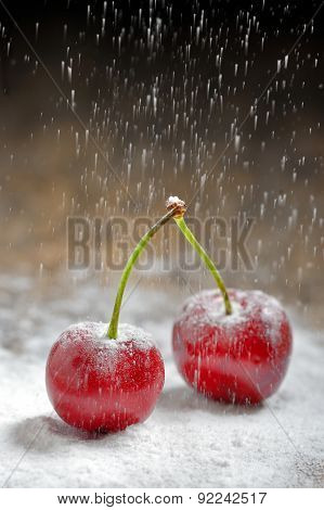 Cherry With Sugar