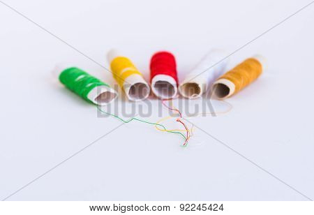Colorful Sewing Thread Reels