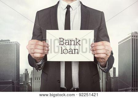 Bank loan on paper