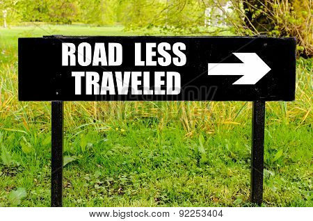 Road Less Traveled