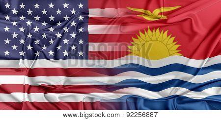 USA and Kiribati