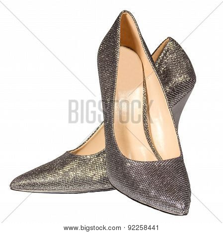 Women's Silver Stilettos