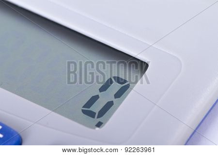 Calculator Screen With Zero