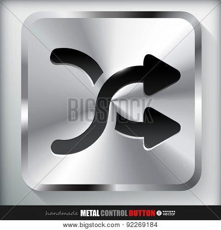 Metal Shuffle Button.