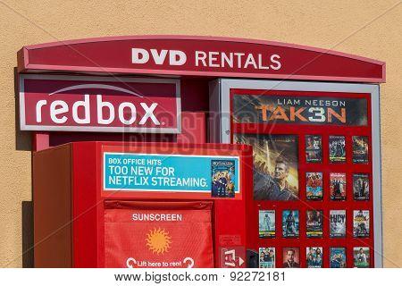 Redbox Dvd Rental Kiosk