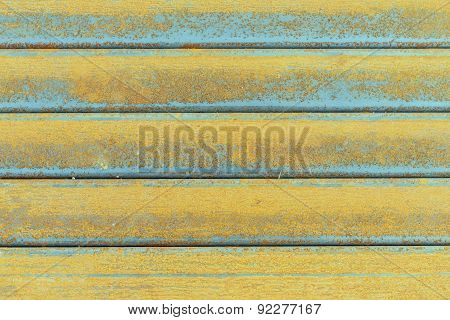 Close Up Steel Surface Get Corrode