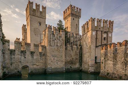 Scaliger Castle Front