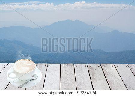 Mountains And Skyline