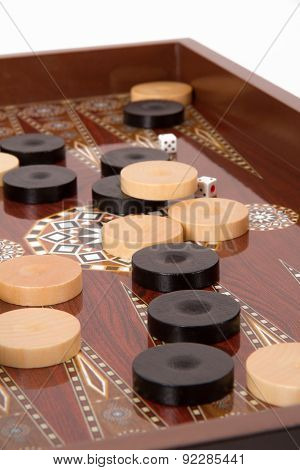 Complicated Backgammon Chips
