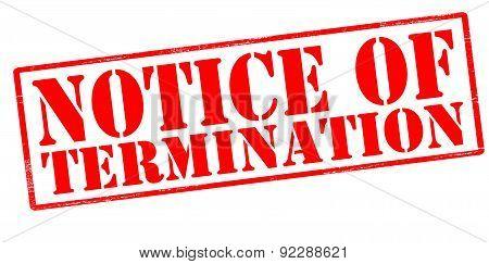 Notice Of Termination