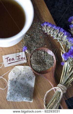 Close Up Tea Bag