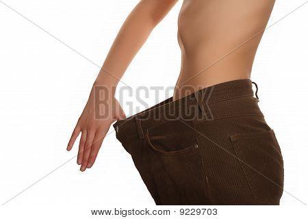 slim woman