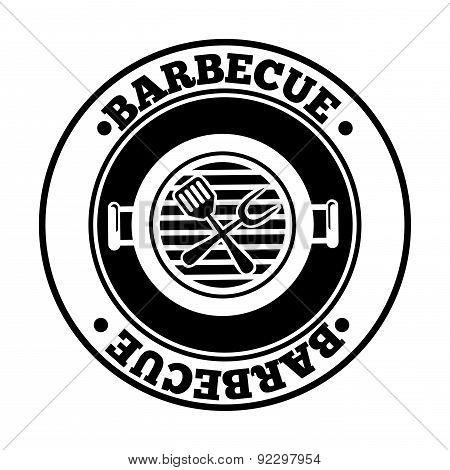 barbecue graphic design  vector illustration