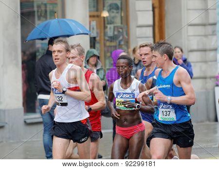 Female Winner Running