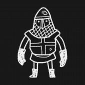 image of paladin  - Knight Doodle - JPG