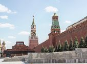 pic of mausoleum  - MOSCOW  - JPG