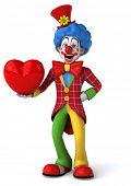 stock photo of clowns  - Fun clown - JPG