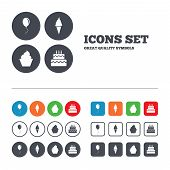 pic of ice-cake  - Birthday party icons - JPG