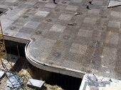 pic of foundation  - Foundation work at the construction site of the building - JPG