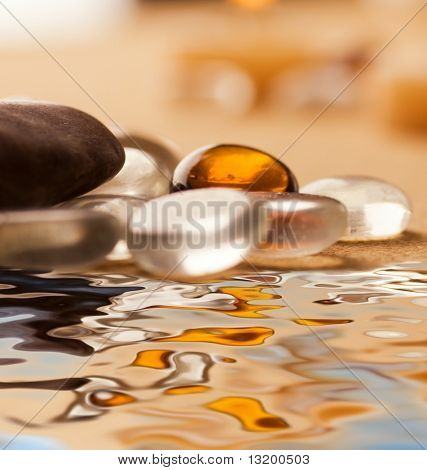 Spa still life (shallow Dof)