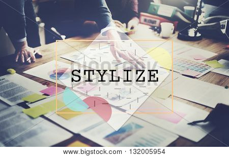 Stylize Class Design Elegant Hipster Treands Concept