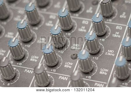 Music Mixer - Studio Equipment Macro