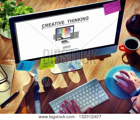 Creative Thinking Design Imagination Inspiration Concept