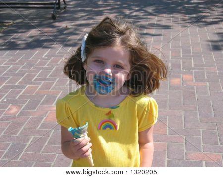 Comer un helado