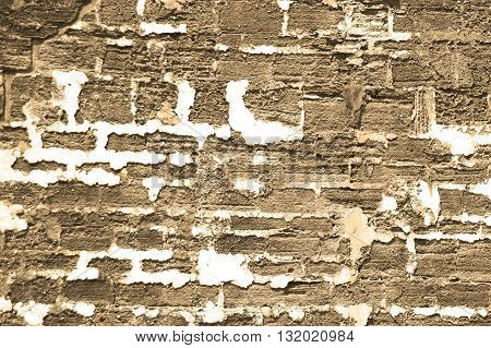 Rustic old brick background with texture for masonry look