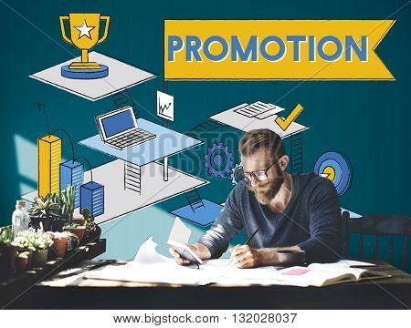 Promotion Marketing Advertising Branding Sale Concept