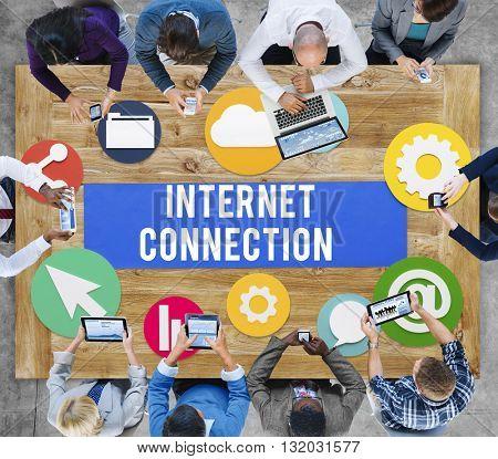 Internet Connection Online Technology Concept