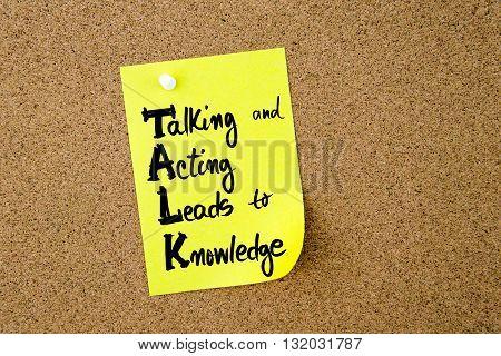 Business Acronym Talk