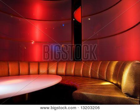 Interior de la discoteca
