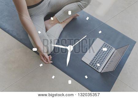 Time Alarm Hour Minute Punctual Schedule Concept
