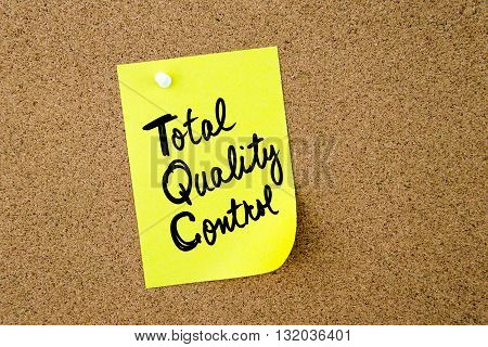 Business Acronym Tqc Total Quality Control