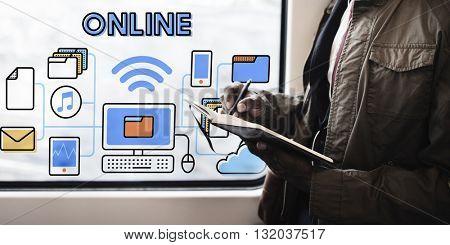 Online Online Storage Network Sharing Concept