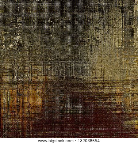 Abstract vintage colored background. With different color patterns: yellow (beige); brown; gray; black
