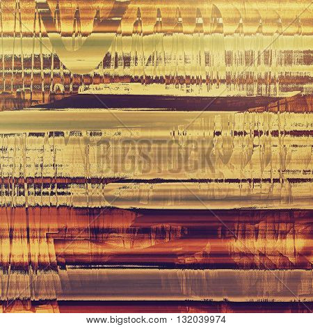 Grunge background for your design, aged shabby texture with different color patterns: yellow (beige); brown; red (orange); gray; purple (violet); pink