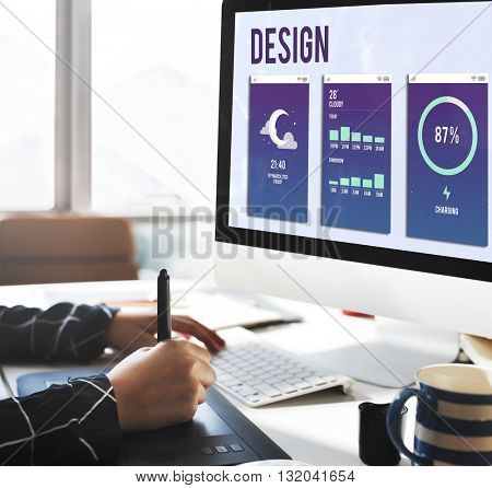 Design Layout Mobile Interface Concept