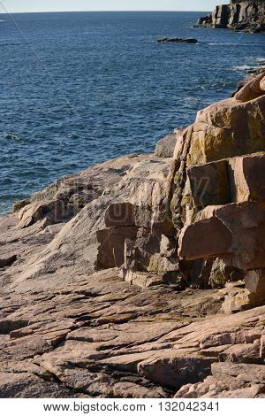 Acadia National Park in New England or Maine