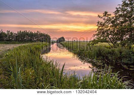Lowland River Koningsdiep