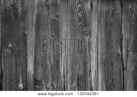 Black and white weathered wood background for rustic feel