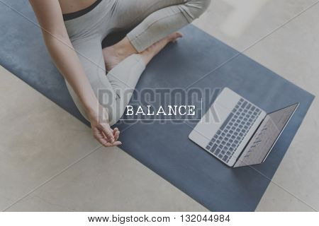 Concentration Aspiration Balance Calm Breath Concept