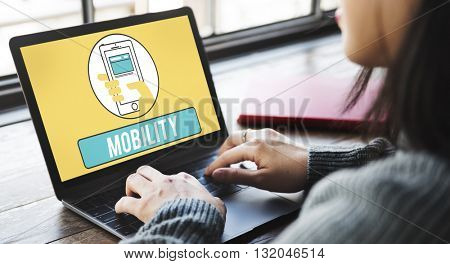 Communication Technology Mobility Wireless Concept