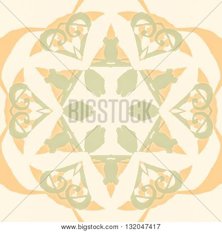 Gorgeous seamless patchwork pattern. Colorful floral ornament tiles. For different design uses, as wallpaper, pattern fills, web page background, surface textures for print and dalle production.