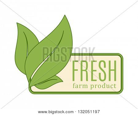 Green leaf logo element vector design ecology symbol.