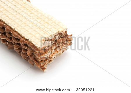Tasty Wafer With Chocolate
