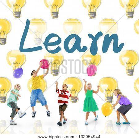 Learn Education Study Progress Knowledge Concept
