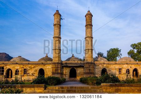 Royal mosque at champaner an architecture marvel