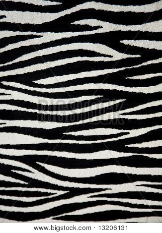 Zebra fabric texture